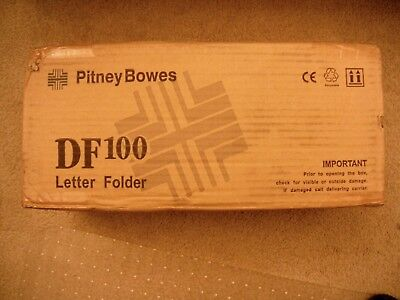 Pitney Bowes DF100 Desktop Letter Folder New In Box