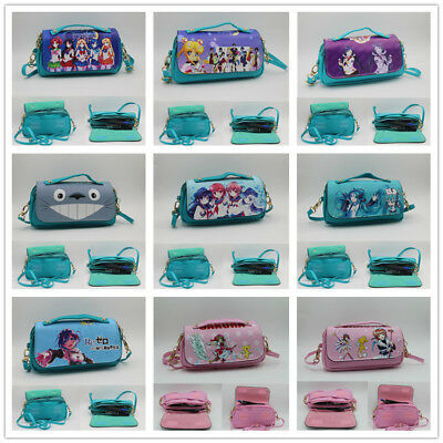 Anime Cosmetic Makeup Leather Pen Bag Pencil Pouch Storage bag wallet Lovely