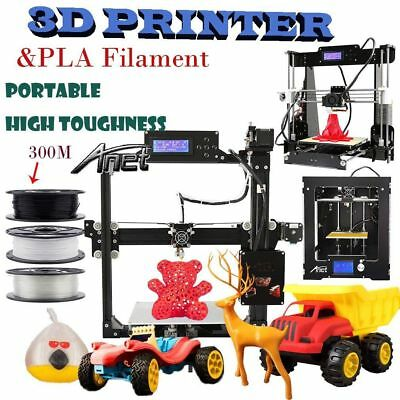 DIY 3D Printer full complete kit Acrylic Frame A8-L Factory Direct - PLA ABS HK