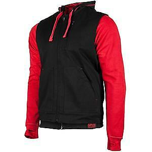 Speed & Strength Bikes Are In My Blood Mens Zip Up Hoody Red