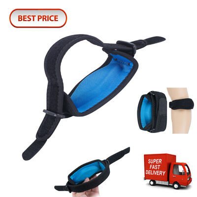 Best Tennis Elbow Support Pain Brace Golfer's Strap Epicondylitis Clasp Fit Gym