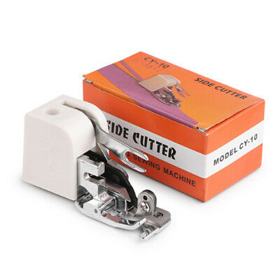 Side Cutter Sewing Machine Presser Foot Feet Attachment Accessory for Singer