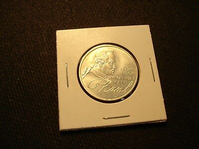GERMANY Federal Republic 1974 'D' 5 MARK SILVER COIN - IMMANUEL KENT PHILOSOPHER