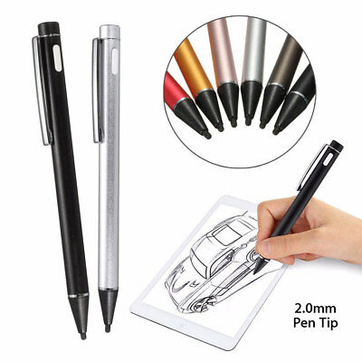 2.0mm Capacitive Screen Touch Pen Stylus Fine Point For iPad Mobile Phone