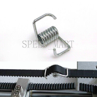Reprap 3D Printer Part Locking Spring Tensioner for MXL & GT2 Timing belt
