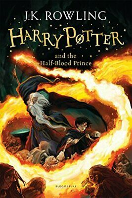 Harry Potter and the Half-Blood Prince: 6/7  by J.K. Rowling New Paperback Book
