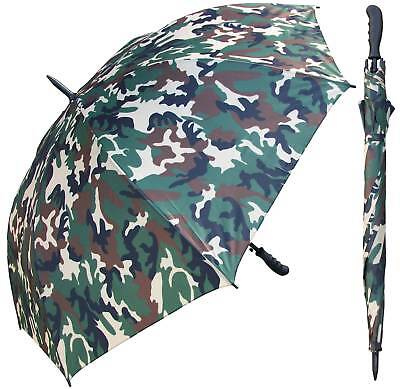 "60"" Camouflage Umbrella - RainStoppers Rain/Sun UV Camo Hunting Camping"