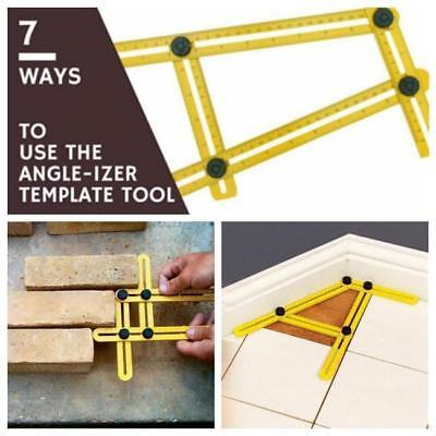 1PC Four-Sided Ruler Angle Measuring Instrument Template Tool Mechanism JJ