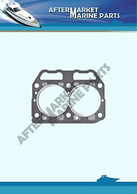 Cylinder head gasket for Yanmar 2GM20 replaces: 128271-01911