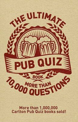 The Ultimate Pub Quiz Book: More Than 10000 Qu by Roy Preston New Paperback Book