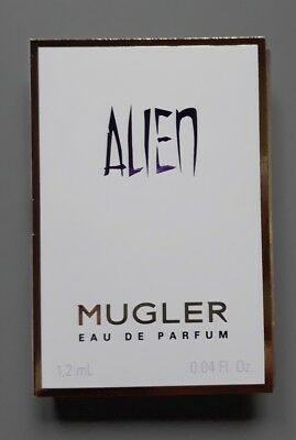 Echantillon  tigette - perfume sample  - Alien de Thierry Mugler 1,2 ml edp