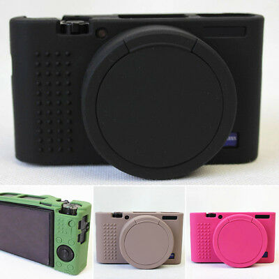New Soft Silicone Skin Protective Case Cover Kit for Sony RX100 M3 M4 M5 Camera