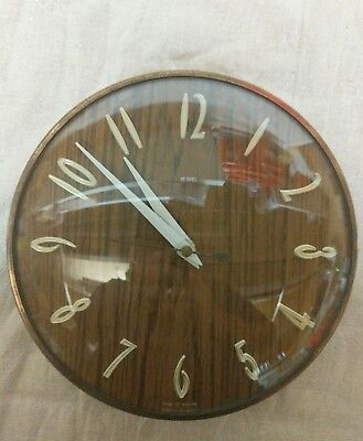 metamec wall clock. retro. german mechanism