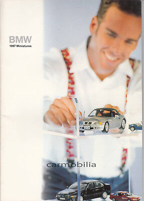 Car Brochure - BMW 1997 Miniatures - Rare - One for the model collectors
