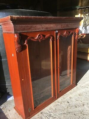 Antique Victorian Cabinet Top, Bookcase