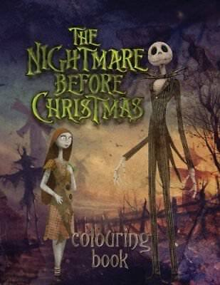 The Nightmare Before Christmas Colouring Book by Jessie Ward New Paperback Book