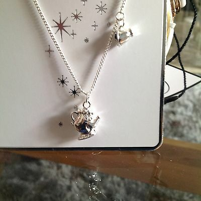 Primark Disney Mrs Potts and chip necklace new