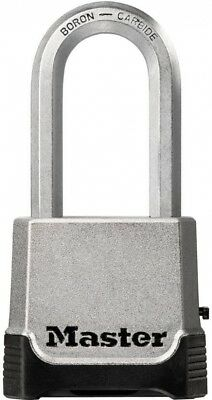Master Lock Padlock Set-Your-Own Combination 2 in. Shackle Back-Up Key