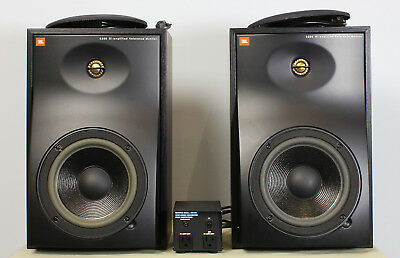 "2x USA JBL 6208Bi-amplified Reference Monitor 8"" aktiv incl. Trafo"