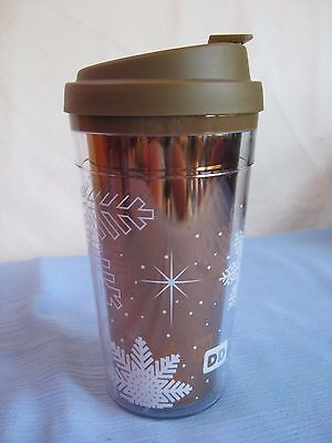 Dunkin Donuts 15 Oz Travel Mug Tumbler Hot/Cold