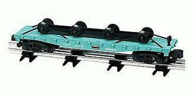 American Flyer Lionel New York Central Flat Car With Wheel Load S Gauge 6-48529