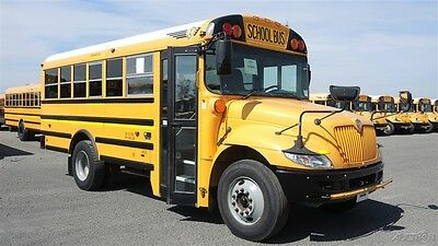 2011 IC CE 30 Pass Used School Bus 2 Roof Hatches 2 Push Out Windows 117879K3