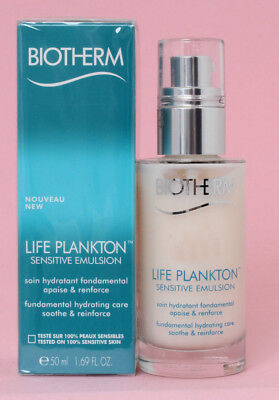 Biotherm LIFE PLANKTON Sensitive Emulsion 50ml, NEUWARE, Originalverpackt