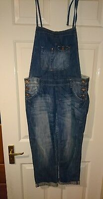 Newlook New Look crop leg dungarees size 12