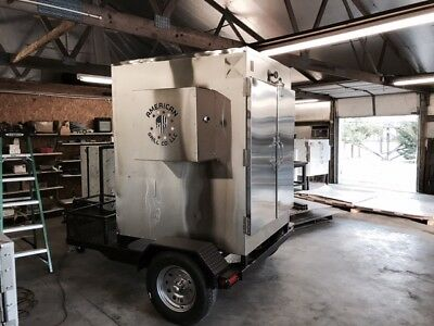 "Insulated Stainless 48"" x 72"" Whole HOG Smoker (Texas Slam)"