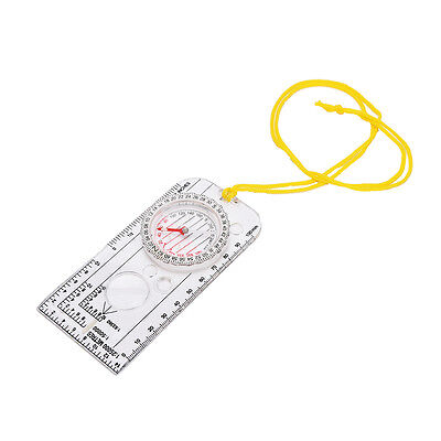 Magnifying Compass Army Scout Hiking Camping Boating Map Reading Orienteering MA