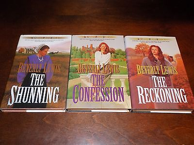 The Heritage of Lancaster County #1-3 by Beverly Lewis - hardback - The Shunning