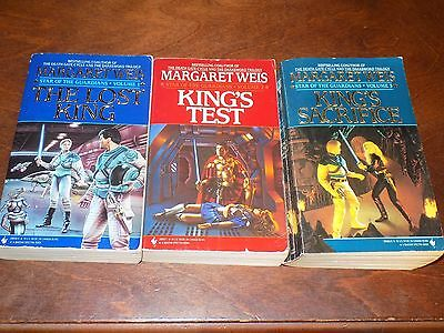 Star of the Guardians #1-3 by Margaret Weis PB The Lost King,... Science Fiction
