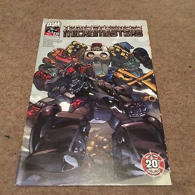 Transformers Generation One G1 Micromasters Comic Dreamwave # 1