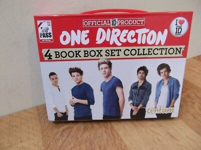 1 X One Direction 4 Book Box Set Collection, New Unused Gift, Bargain Low Start.