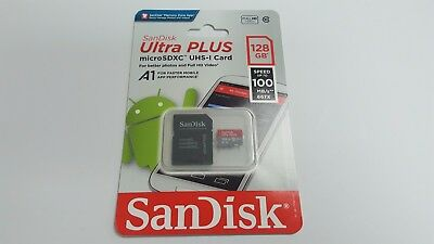 New SanDisk 128GB Micro SD SDXC MicroSD TF Class 10 128 GB Mobile Ultra 100MB/s