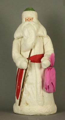 Antique Soviet Russian Cotton Figurine of a Ded Moroz circa 1977