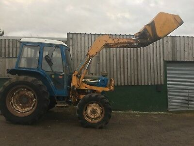 Ford 7600 4x4 Tractor With Grays Power Loader