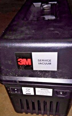 3M Service Vacuum Model 497  For Electronics And Copier Cleaning -New Filter
