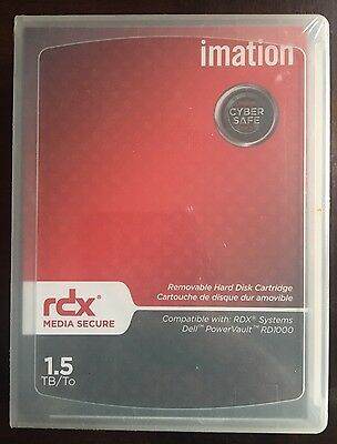 Imation 29110 - 1.5TB RDX / RD1000 Cartridge - New/Factory Sealed