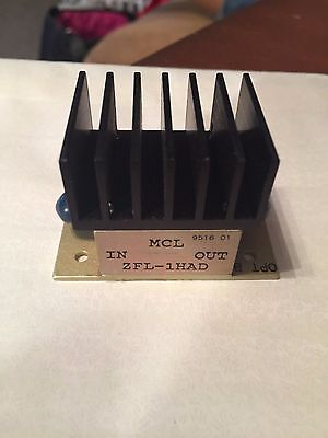 Mini Circuits  ZFL-1HAD Amplifier NEW!!! SMA Connectors  High Isolation