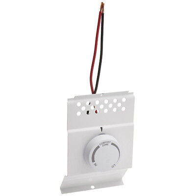 cadet 08732 btf single pole built in baseboard thermostat, whitecadet 08732 btf single pole built in baseboard thermostat, white, 120 240v