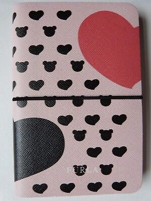 FURLA Authentic Small Pink Leather Notebook