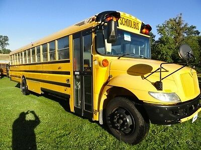 2010 IC CE 71 Passenger Used School Bus with Luggage 6.4 Diesel Engine 110548k3