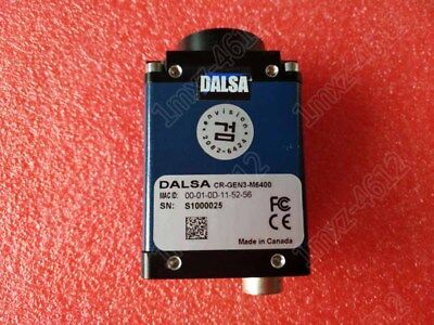 1pc used   DALSA CR-GEN3-M6400 industrial camera