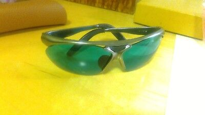 Bolle Parole Sport Sun Glasses Two Sets Of Lenses with Case Green Gray