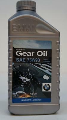 Brand New Bmw Gear Oil 75W90 Full Synthetic 1 Qt. 3 Pack H4 P2
