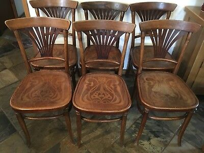 Austrian Chairs Set Of 6
