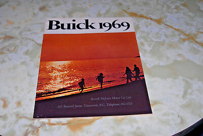 Sales Brochure Of An 1969 Buick, Excellent Condition Fir 48 Years Old