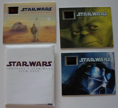 Star Wars Film Cells Limited Edition Collectors Items - Starwars