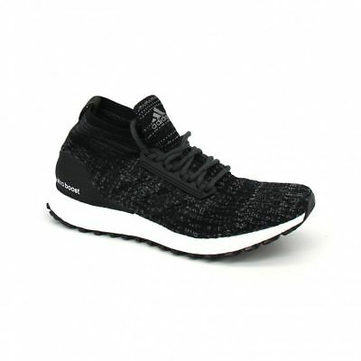 check out aa518 c4185 NEW MEN'S ADIDAS ULTRA BOOST ATR MID - S82036 Black White Ultraboost  Sneakers